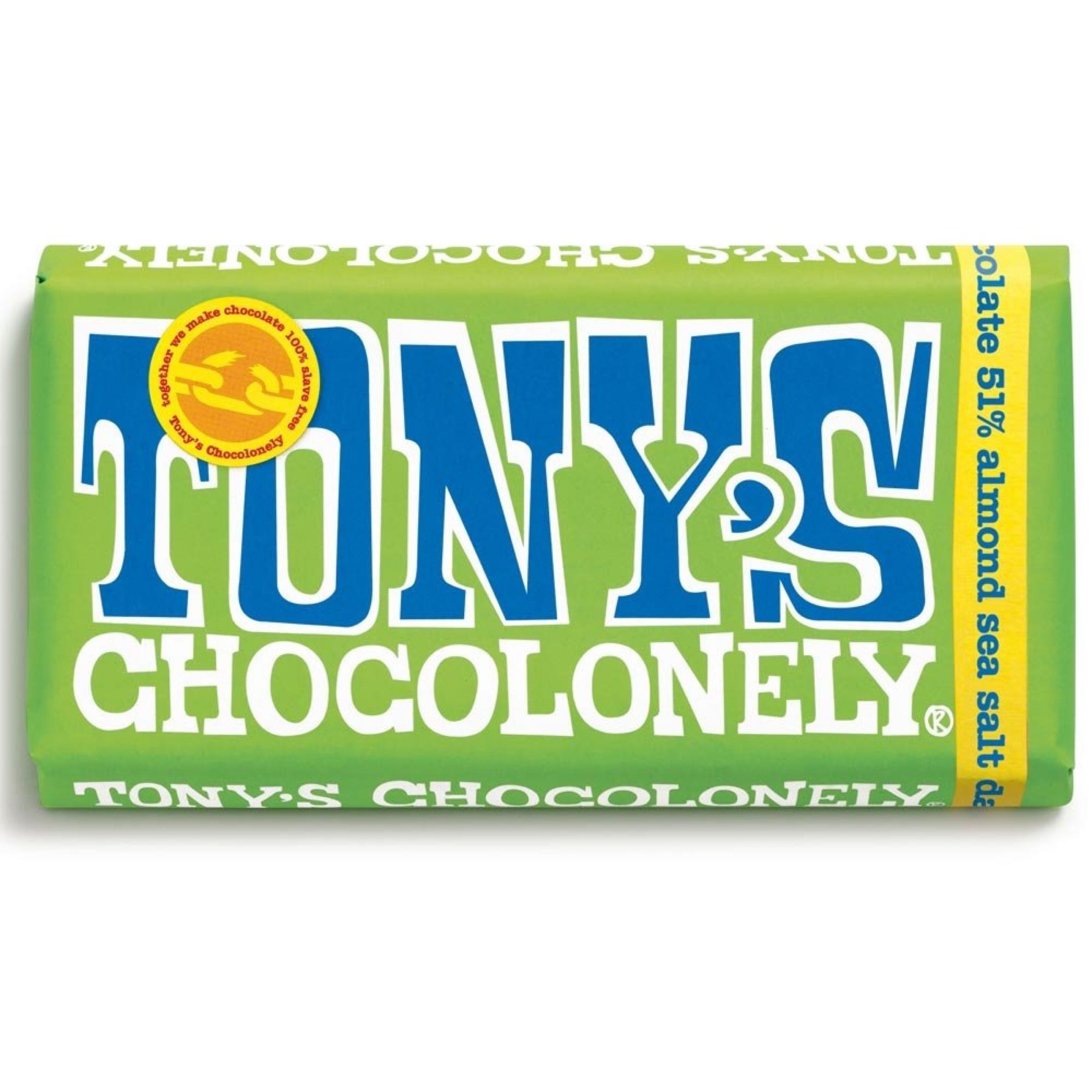 Tony's Dark Almond Sea Salt