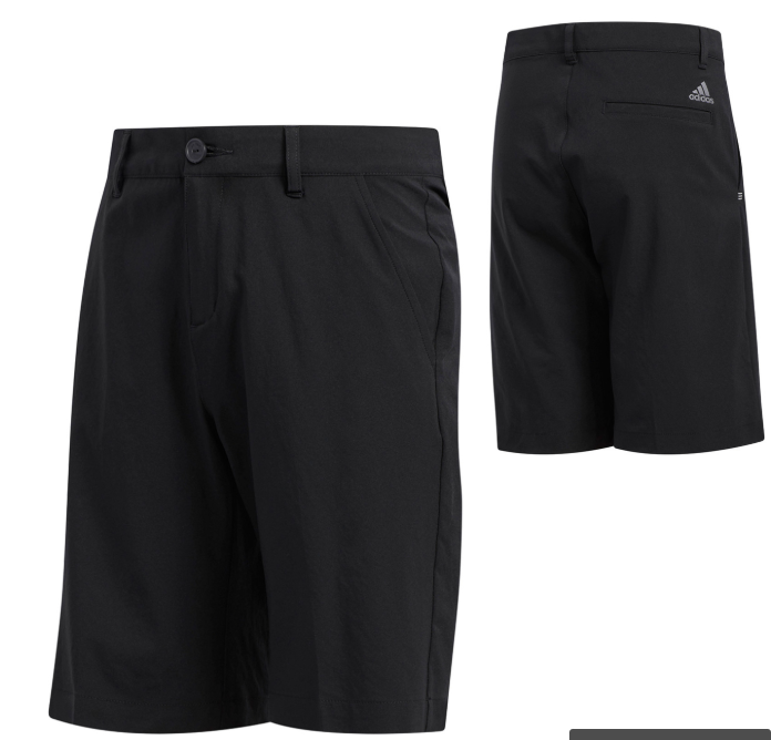 Adidas solid shorts junior - sort