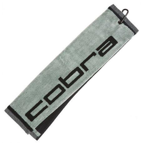 Cobra Jacquard grå golf håndklæde