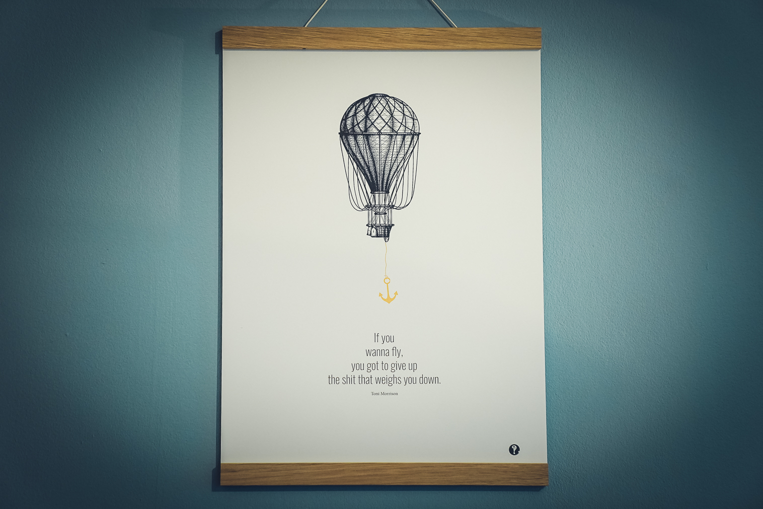 Poster Toni Morrison - Golddruck