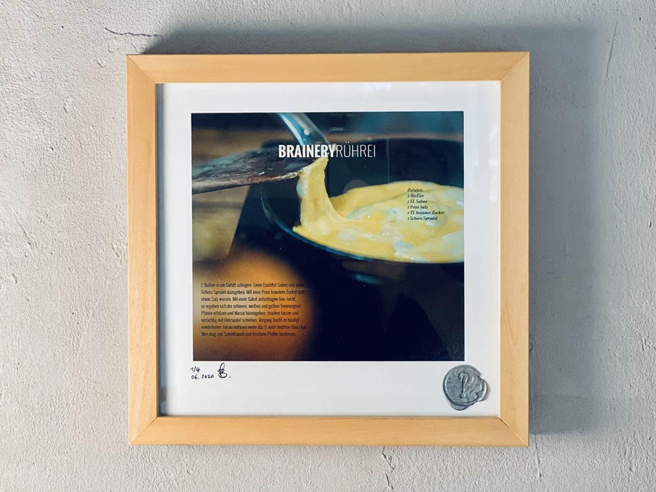 "Brainery Print ""RÜHREI"", limitiert"