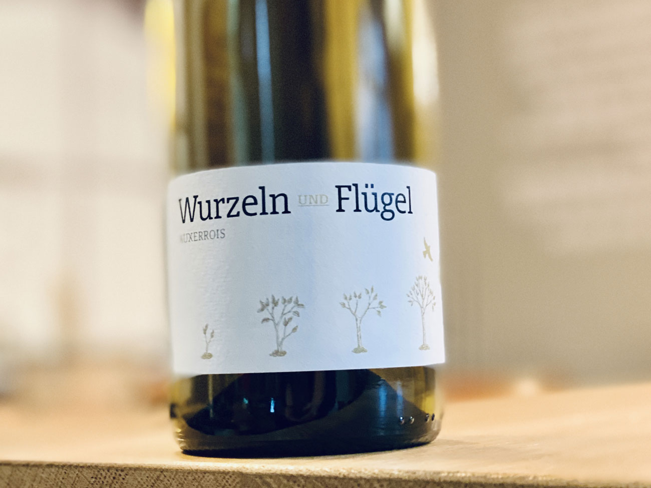 """""""Wurzeln und Flügel"""", Auxerrois Weingut Klumpp"""