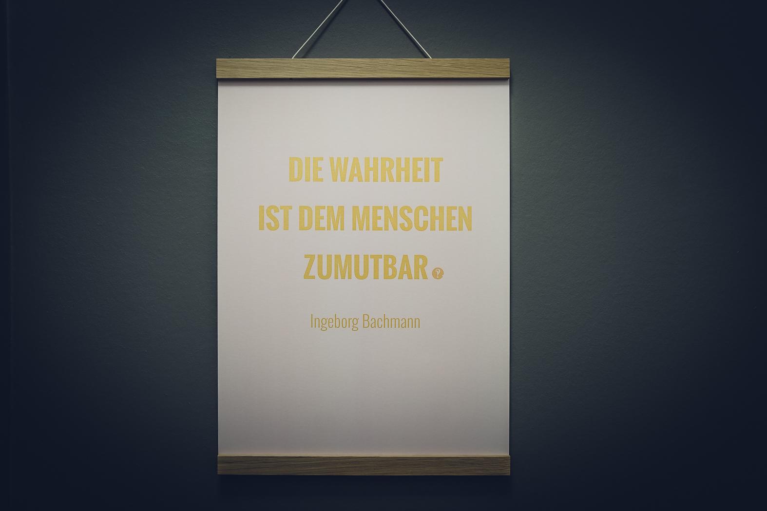 Poster Ingeborg Bachmann