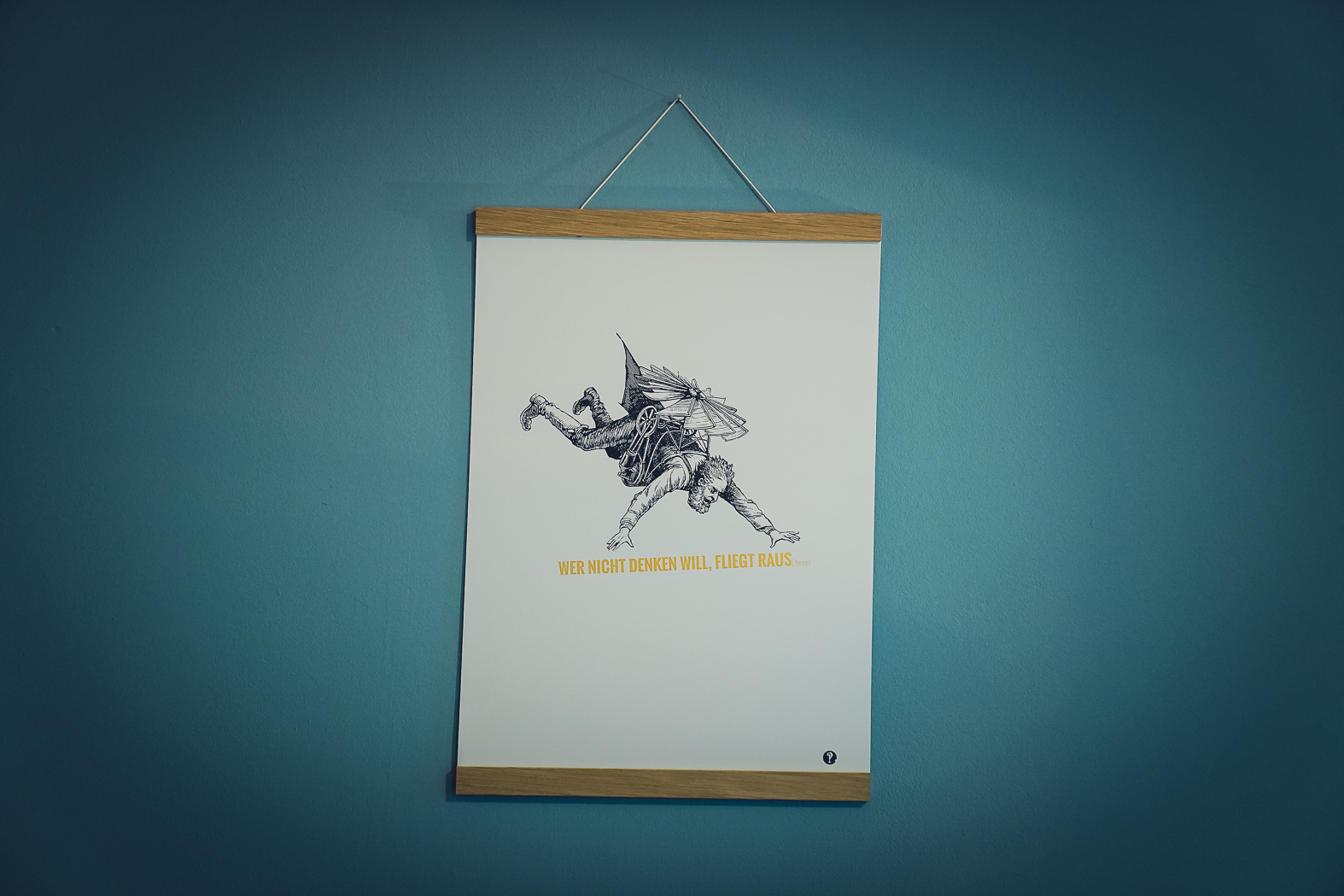 Poster Beuys - Golddruck
