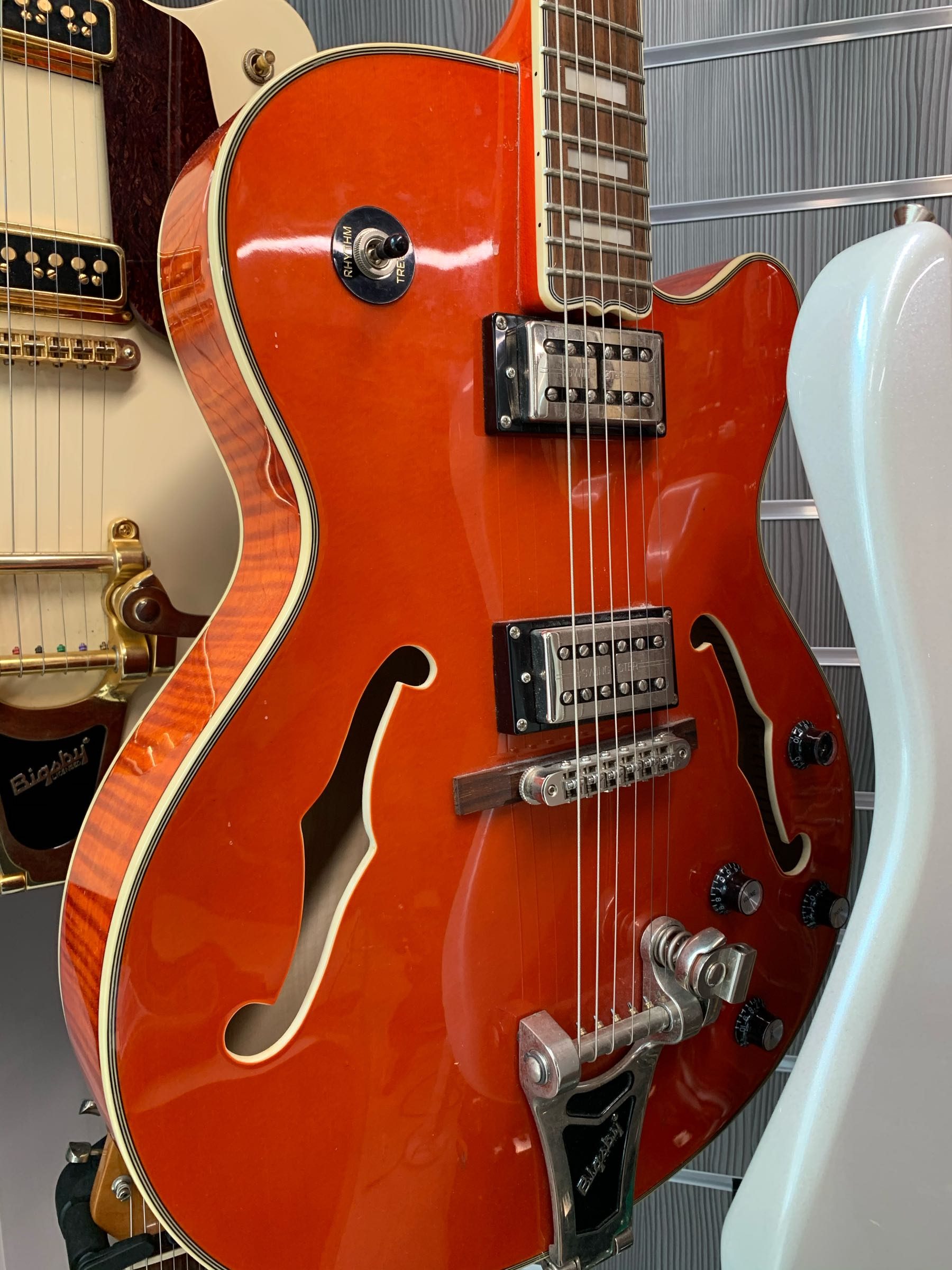 Epiphone Swingster Orange