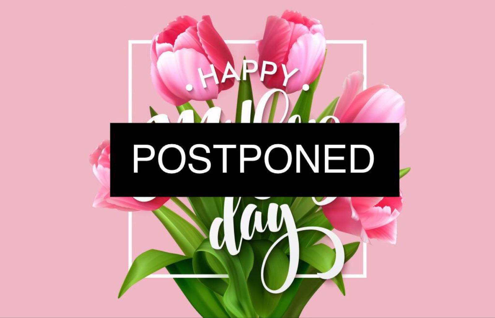 (A) POSTPONED.   Daybreaks Mother's Day Prosecco lunch 21st March 2020