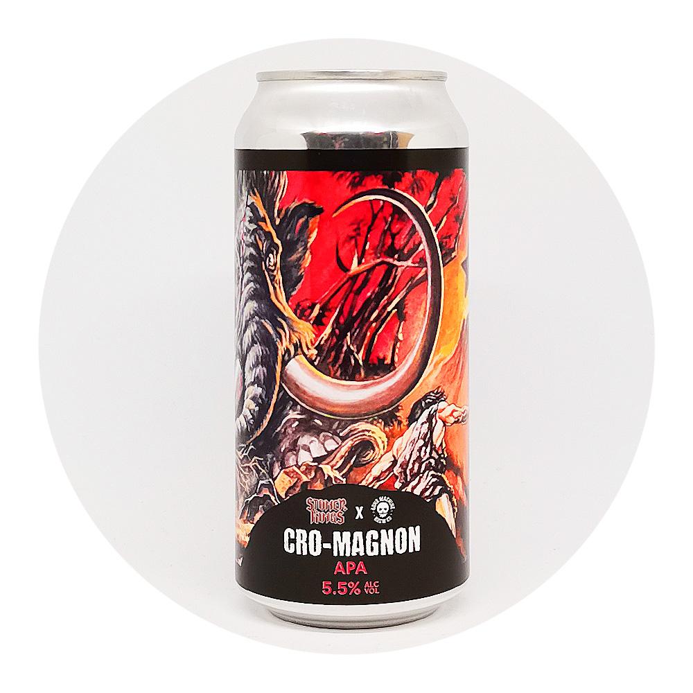 Cro-magnon 5,5% - Bone Machine Brew