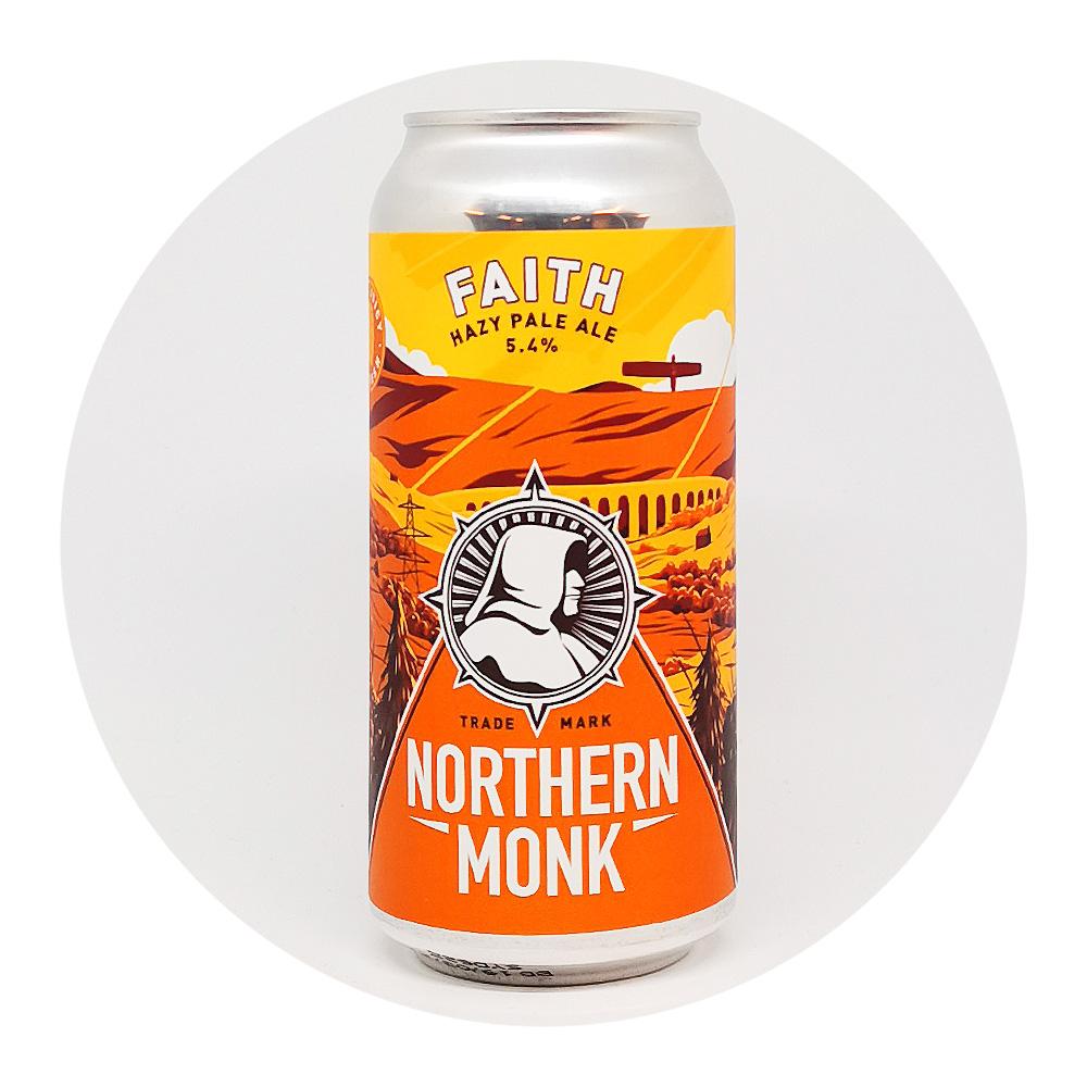 Faith 5,4% hazy pale ale - Northern Monk
