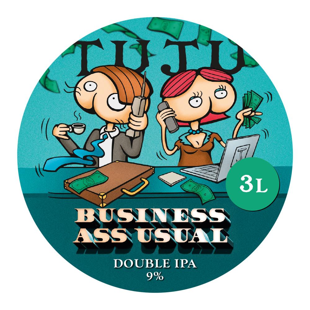 Business Ass Usual 3L growler