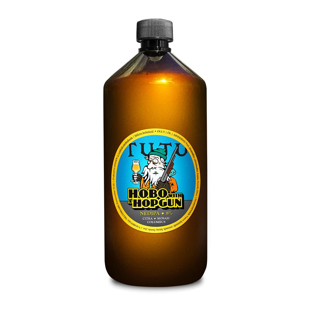 Hobo with a hopgun 8% 1L growler