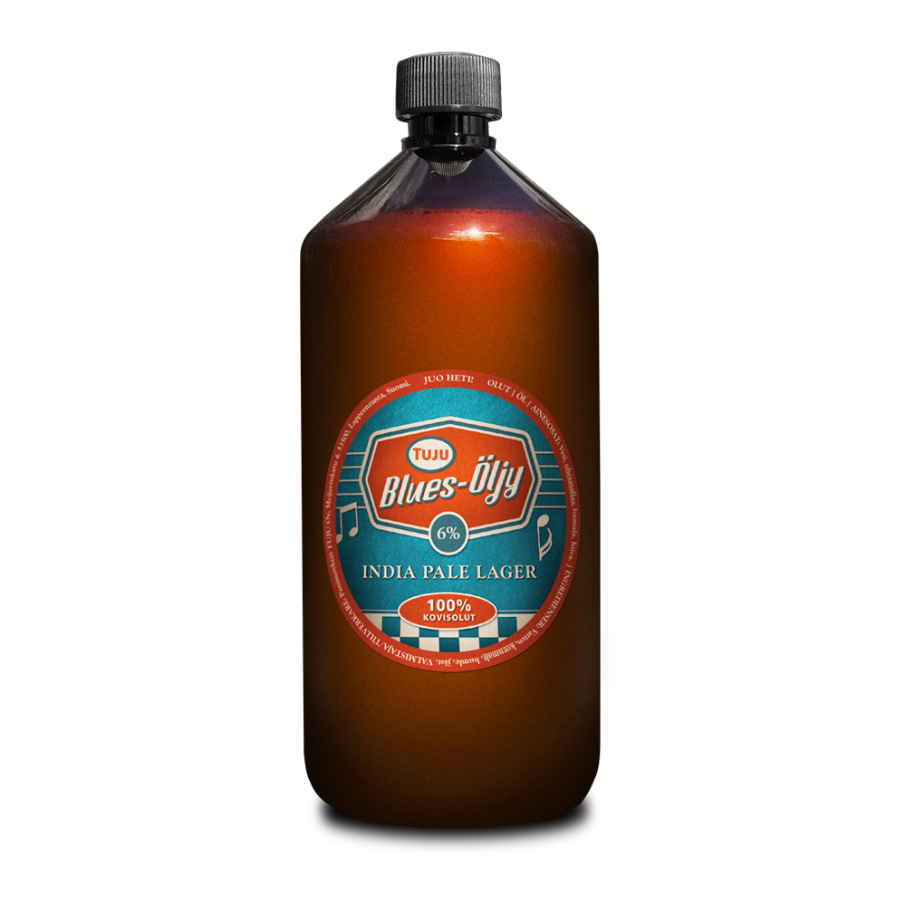 Blues-Öljy 6% 1L growler