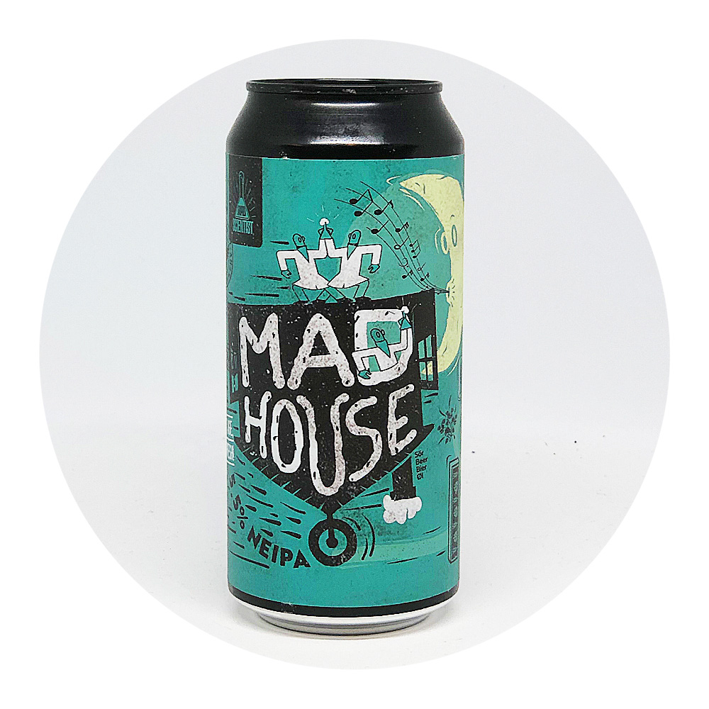 Mad House NEIPA 5,5% - Mad Scientist