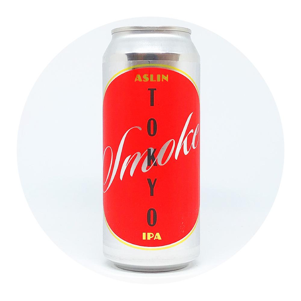 Tokyo Smoke IPA 5,5% - Aslin Beer Co.