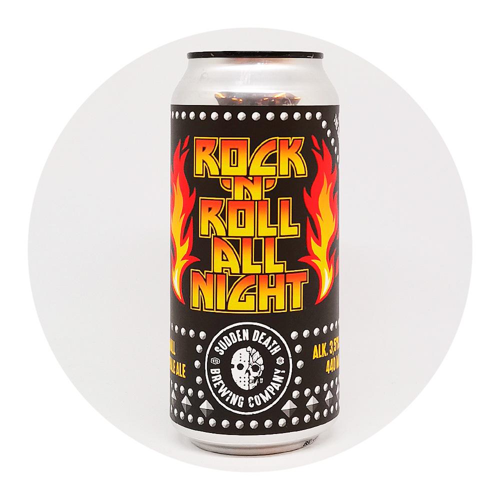 Rock 'n' roll all night 3,5% - Sudden Death