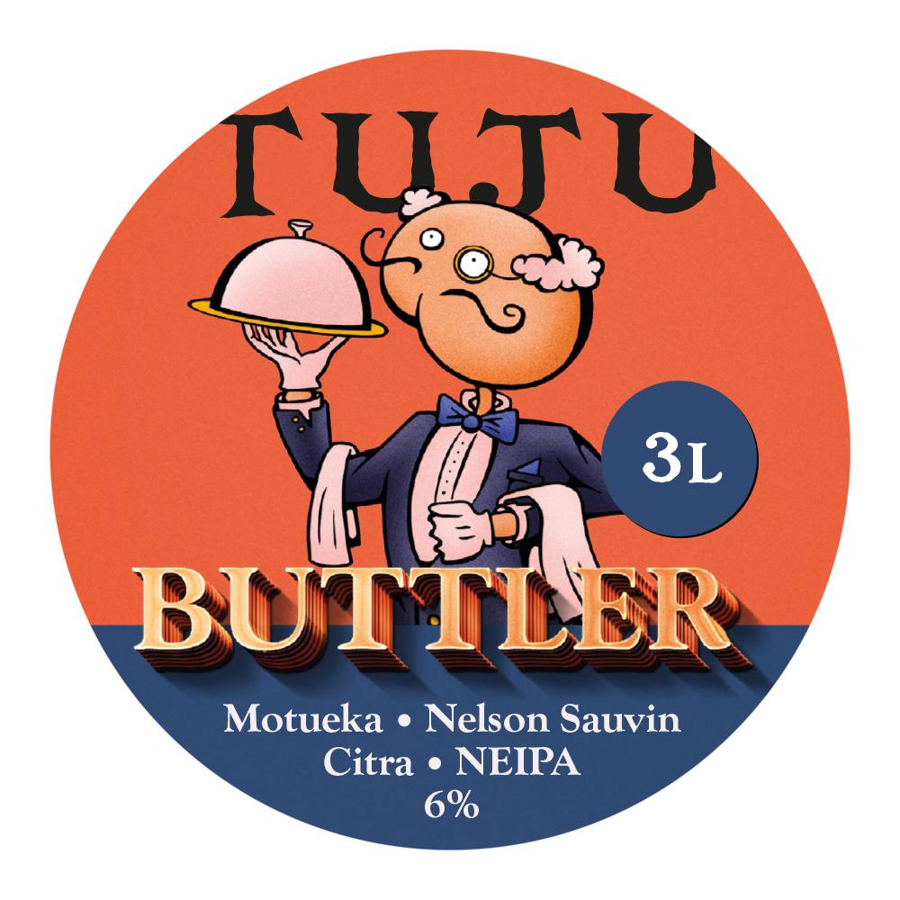 Buttler 6% 3L growler