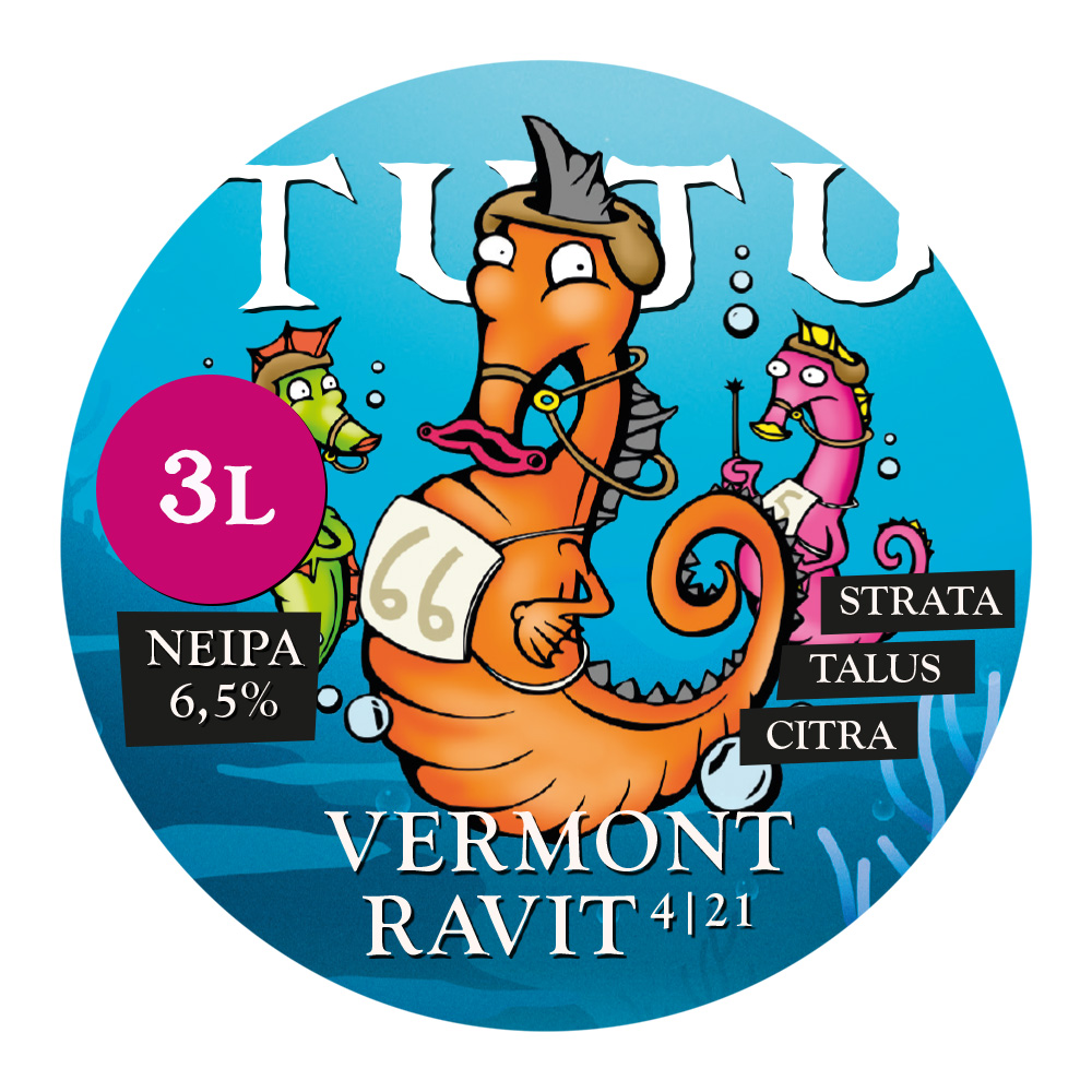 Vermont ravit 6,5% 3L growler.