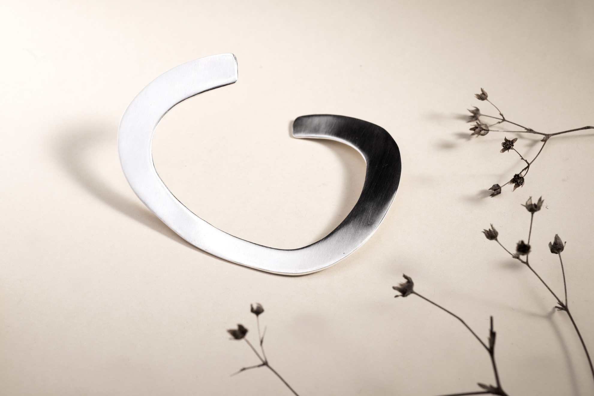 Armring in silver, KGD for Hillestad, 14S