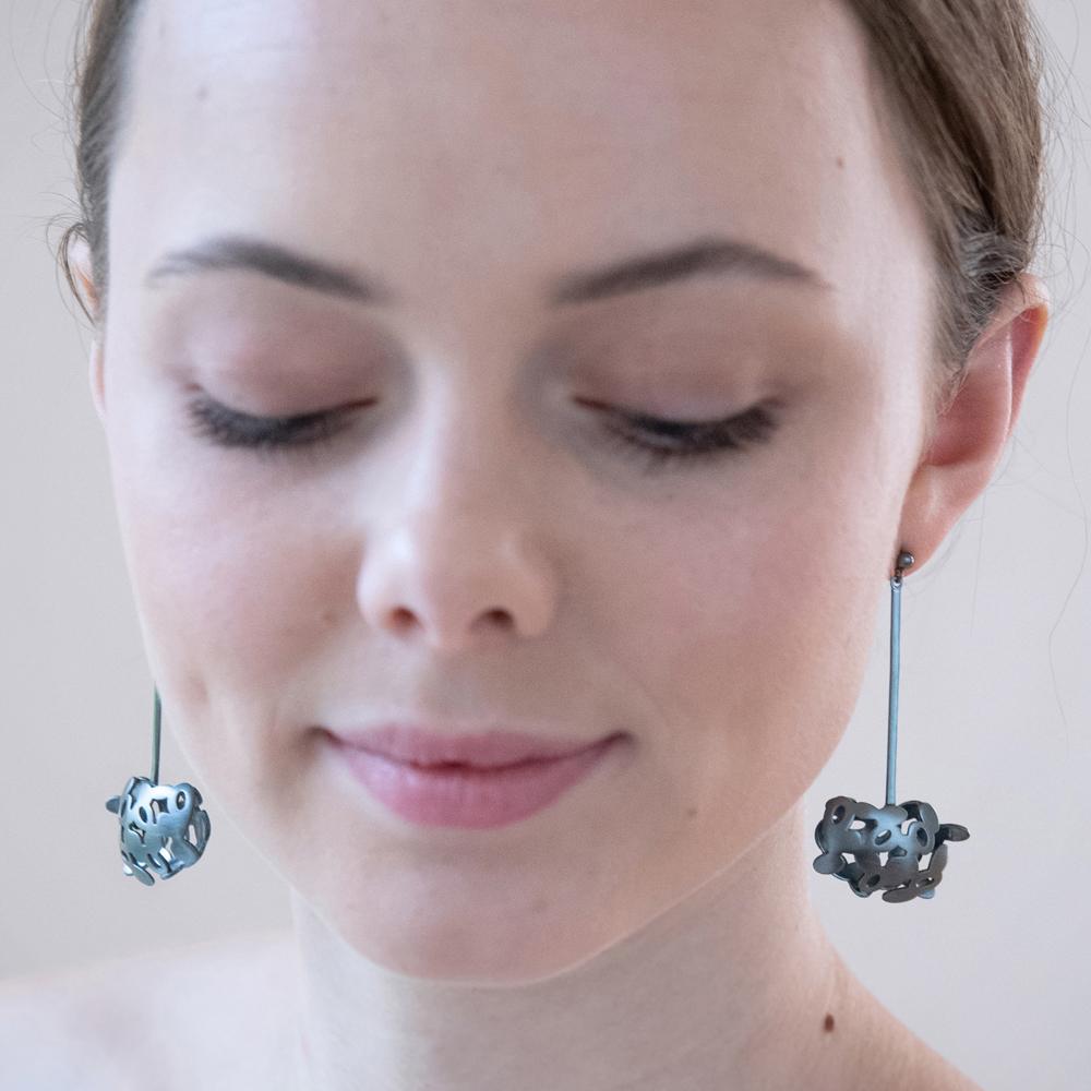 SALE 30%! #1098 Lovalava hanging earrings