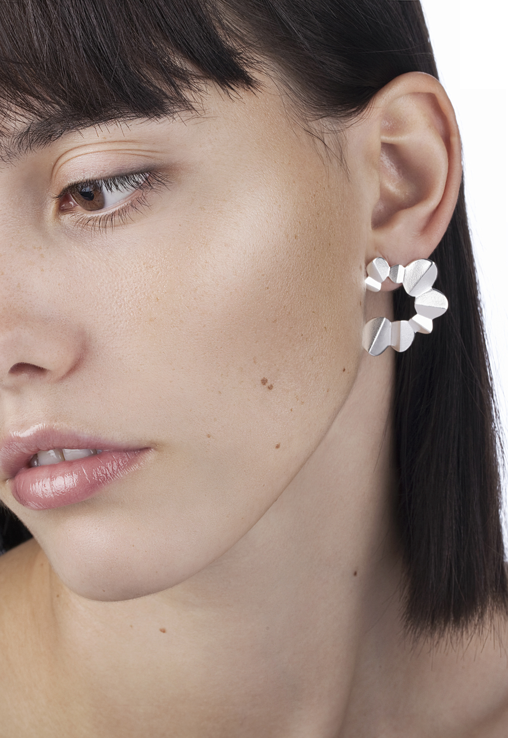#1036 Nanga Parbat medium earrings