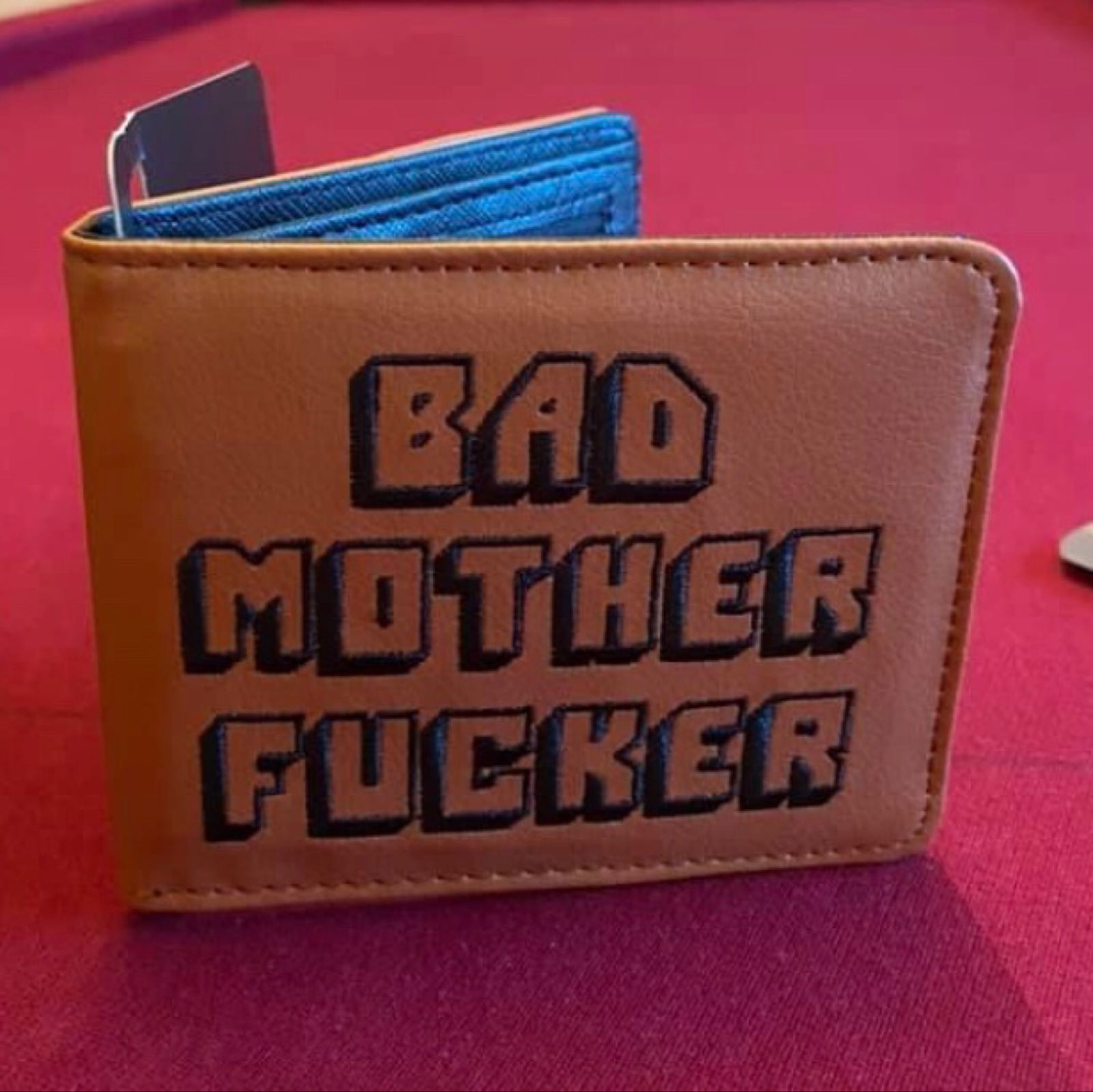 r. Leather Wallet