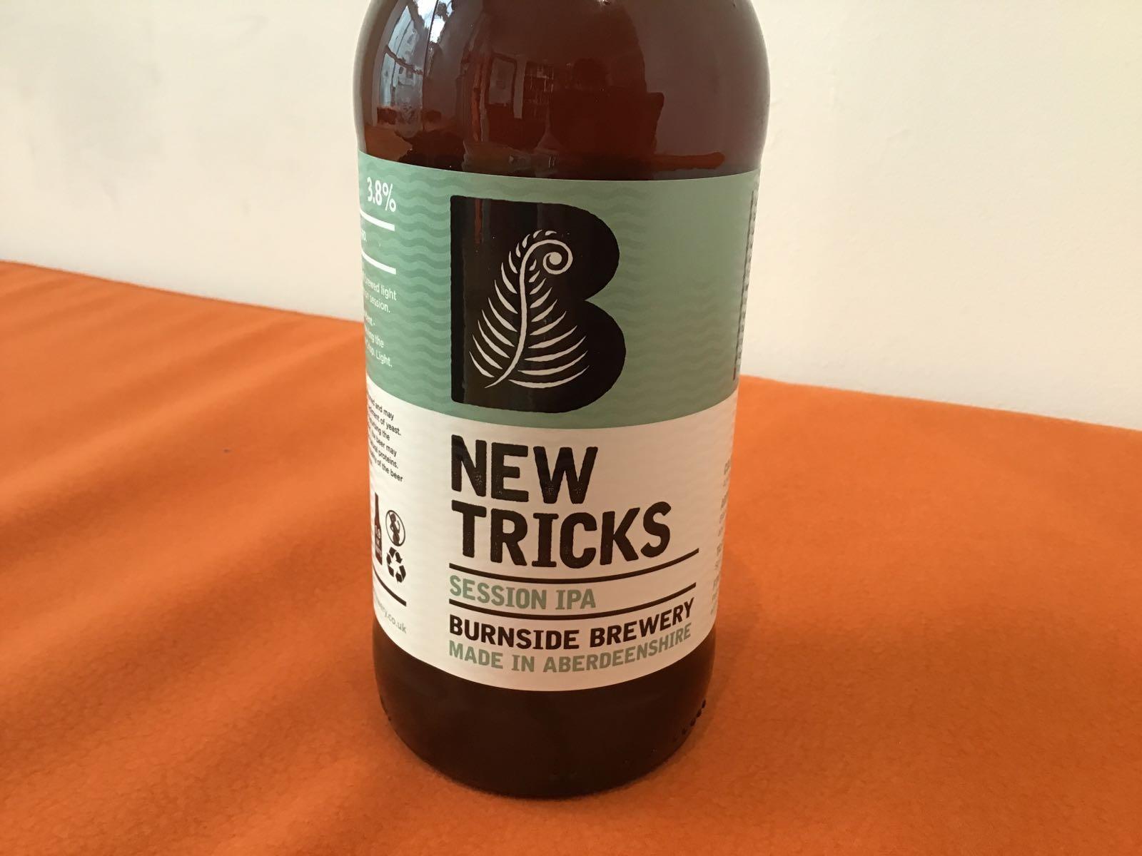 Burnside Brewery:  New Tricks