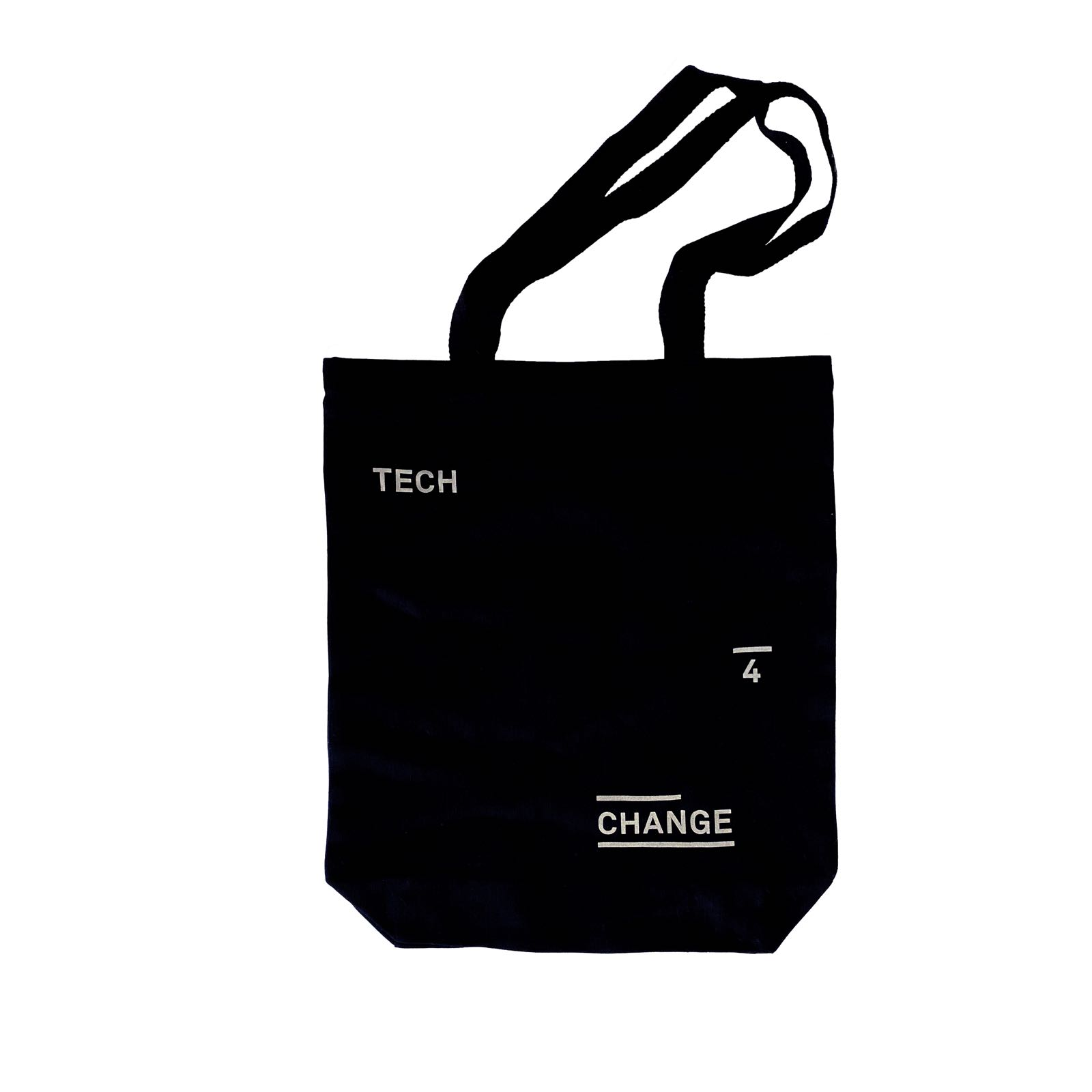 Tech 4 change tote bag