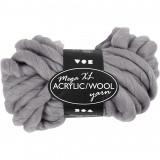 Mega XL Acrylic Wool Grå