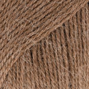 Alpakka 607 Lys Brunmelert MIX