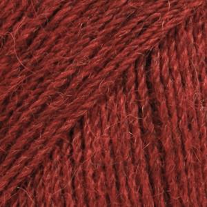 Alpakka 3650 Rødmelert MIX