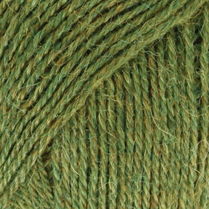 Alpakka 7238 Grønt Gress MIX
