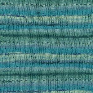 Fabel Print Blå Lagune 340