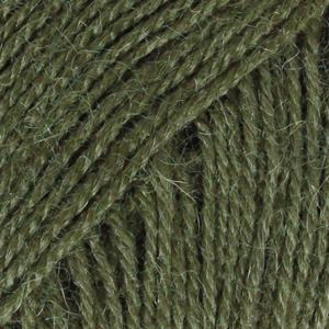 Alpakka 7895 Mørk Grønn