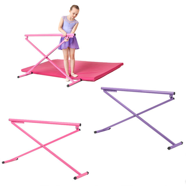 Adjustable Free Standing Folding Ballet Barre