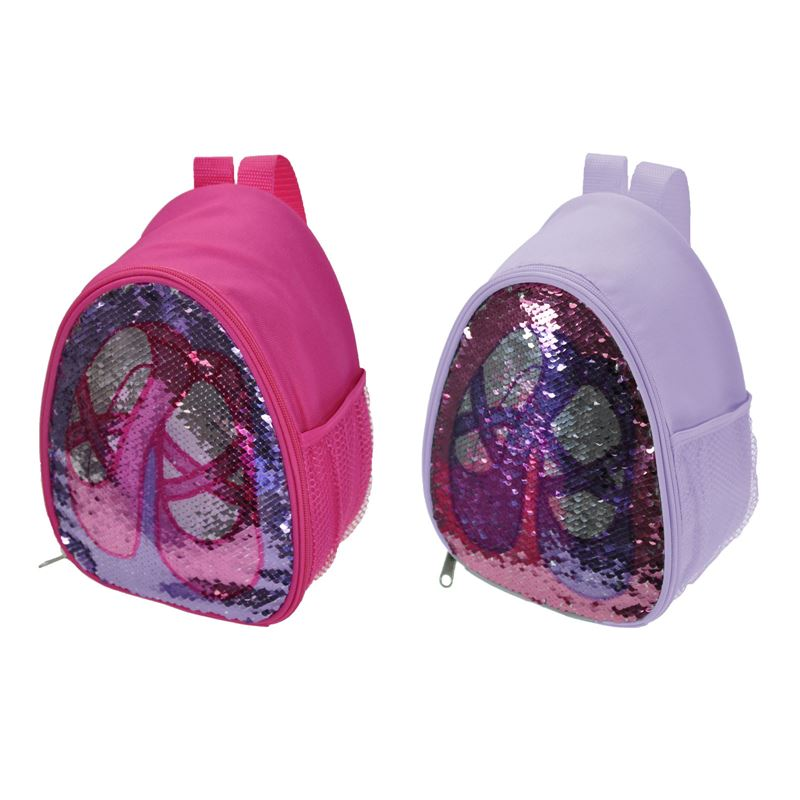 Reversible Glitter Backpack