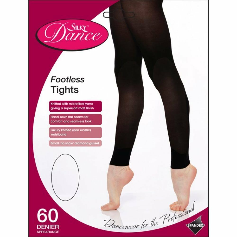 Footless Tights Silky - Adult