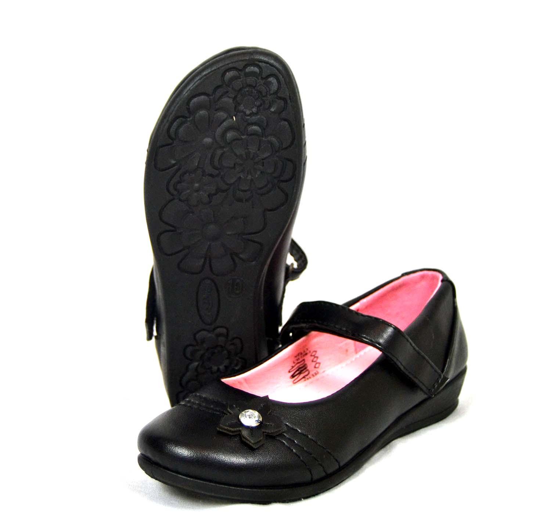 Nelly Girls Velcro School Shoes