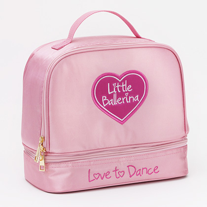 2 part Satin Bag - Little Ballerina