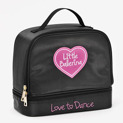2 part Satin Bag - Little Ballerina