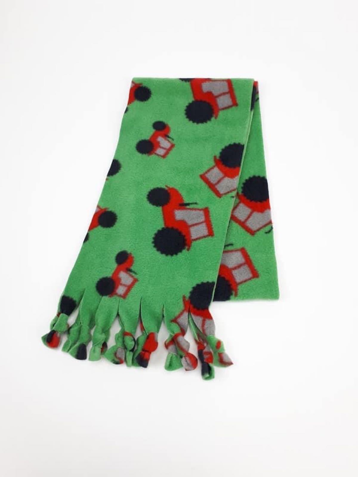 Green Tractors Scarf