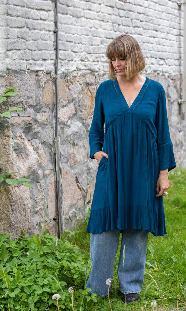 Emma Kjole M-blå