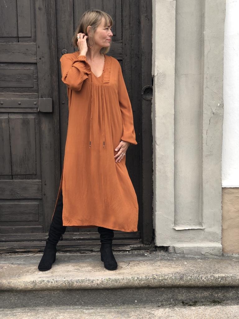 Marley Maxikjole brent orange