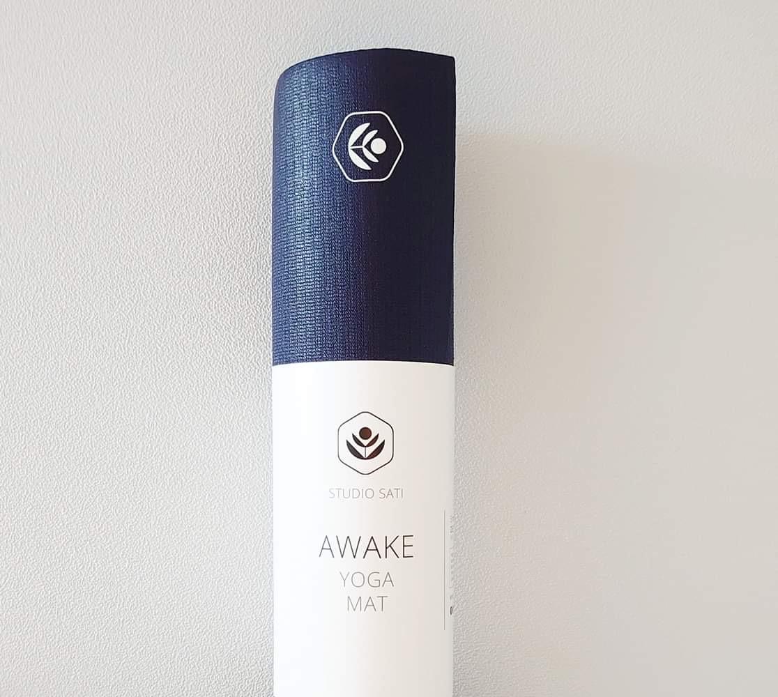 Yogamatte  Awake 4mm  Marine