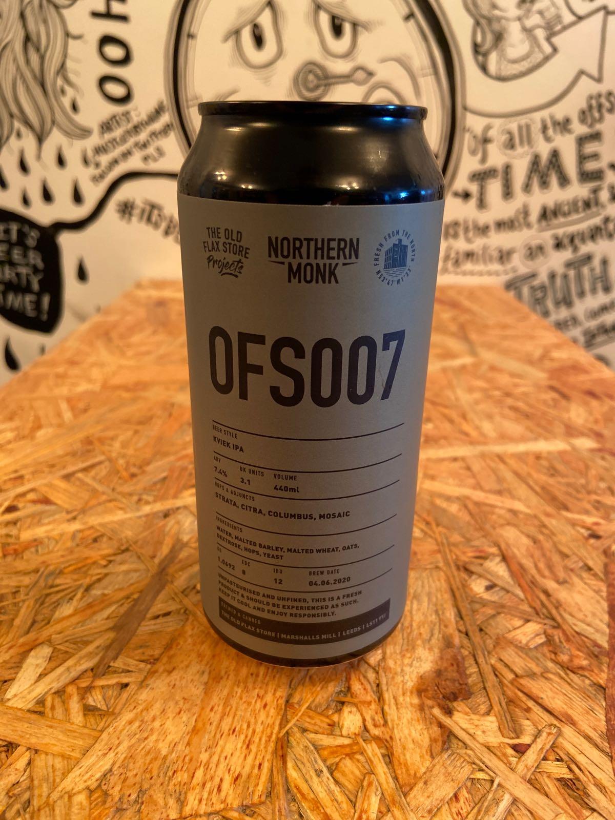 Northern Monk OFS007 Kveik IPA 7.4%