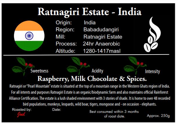 Ratnagiri Estate - India - 250g