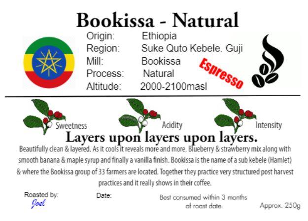 Bookissa - Ethiopia - Natural -250g