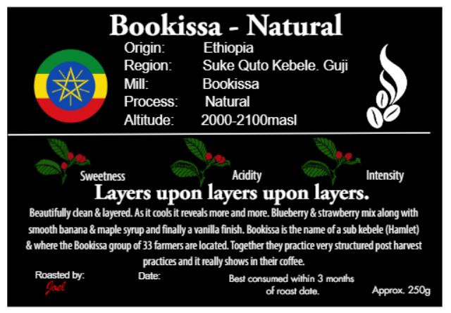 Bookissa - Ethiopia - Natural - 250g