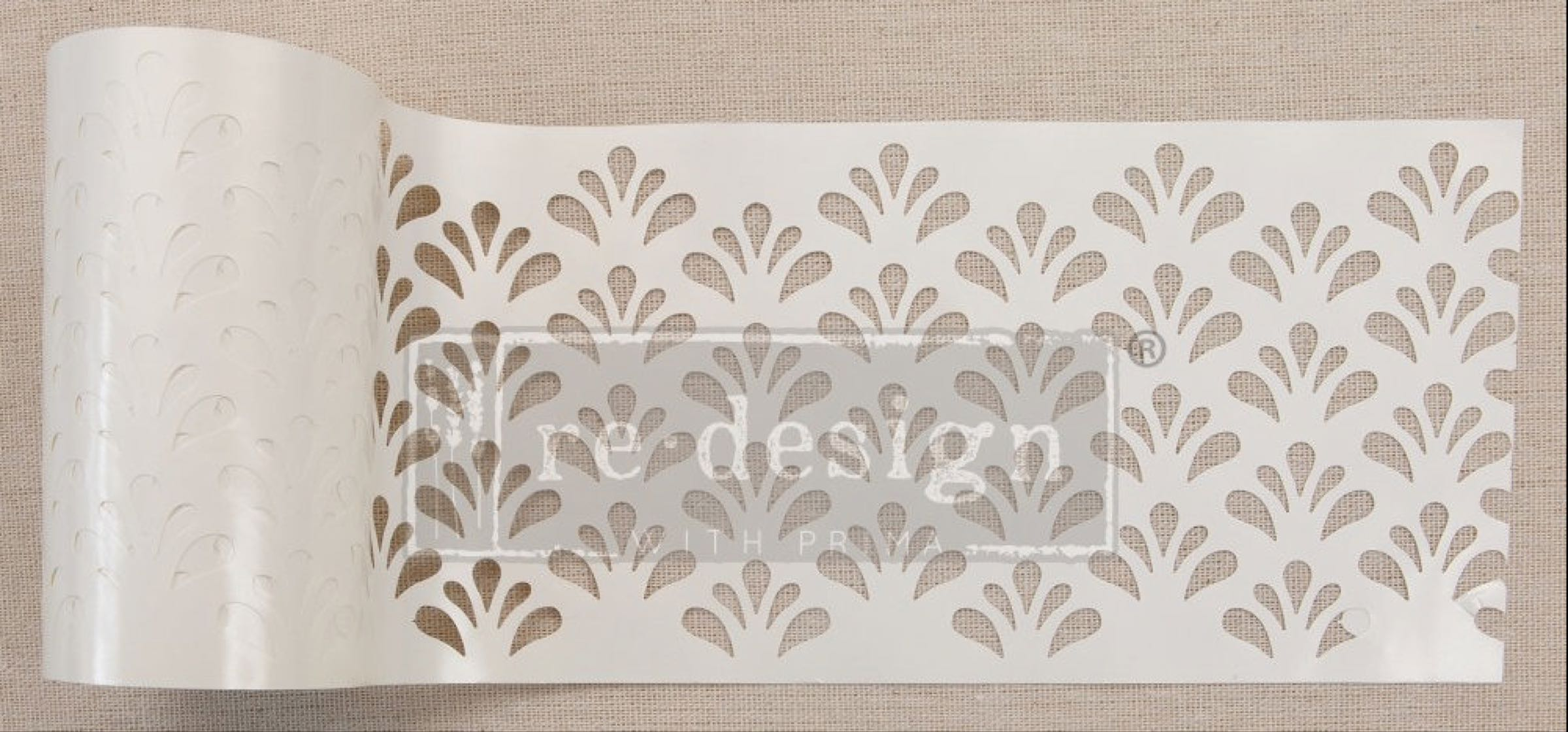 Re-design with Prima Stencil Roll - Eastern Fountain (Special Order)