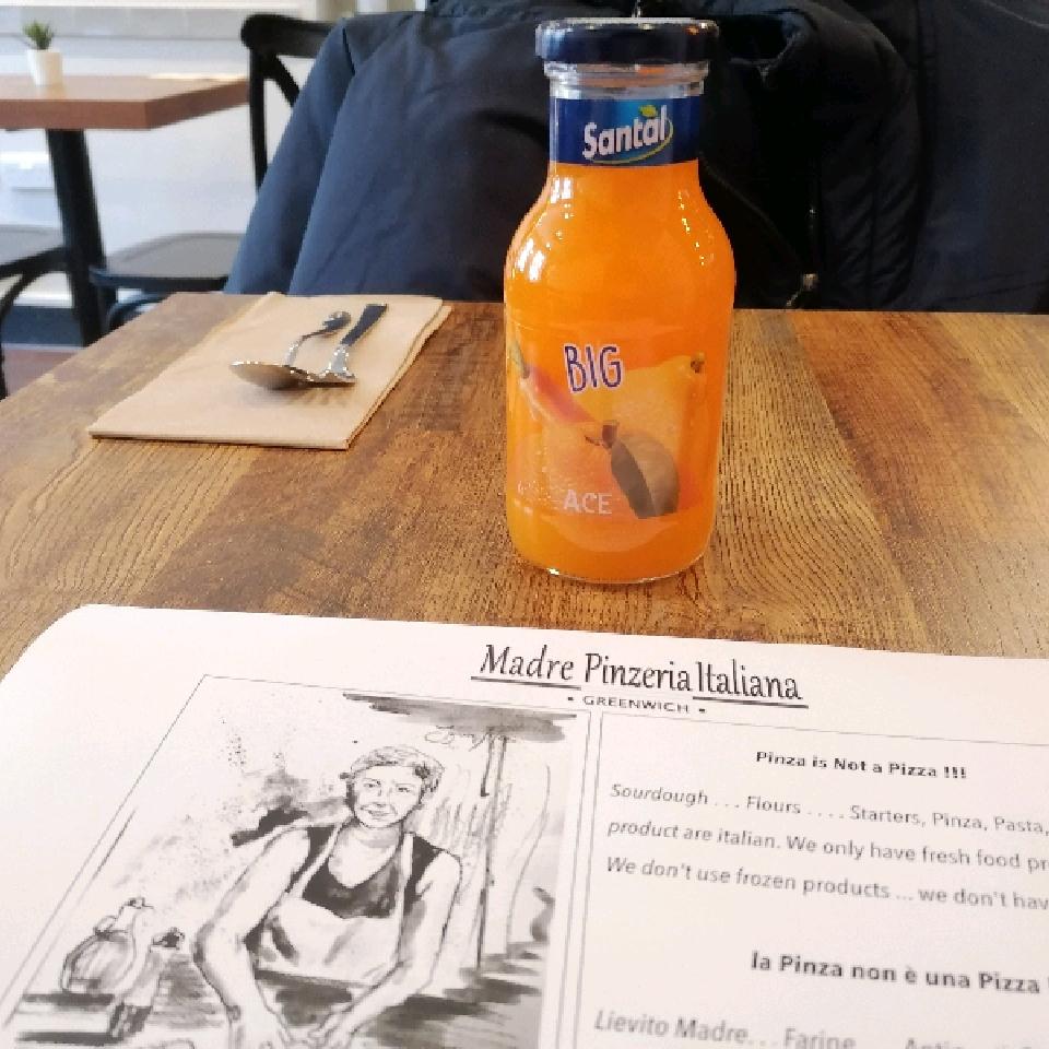 Ace Orange-Carrot-Lemon 250ml