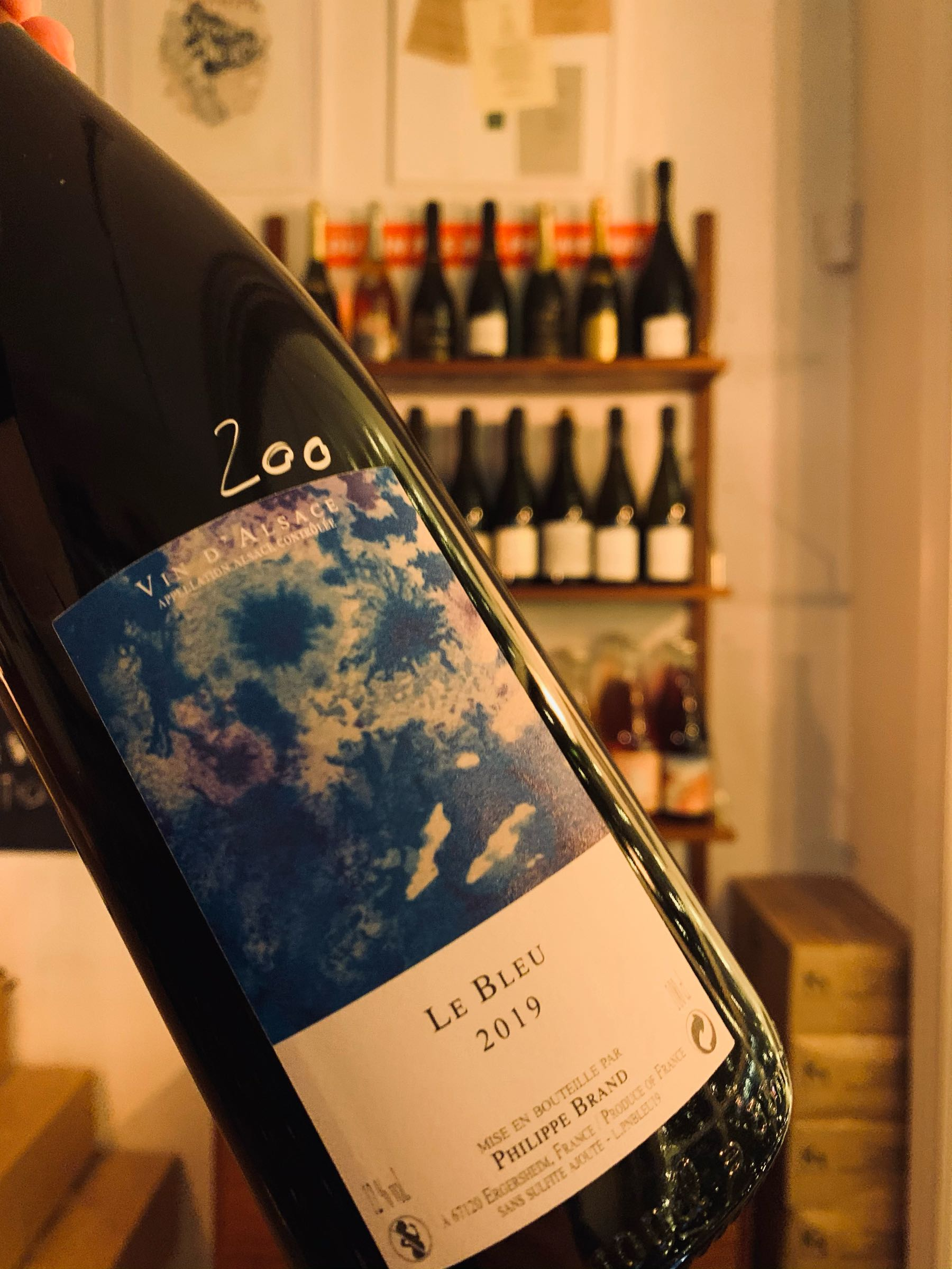 Le Bleu Pinot 2018 - Domaine Brand