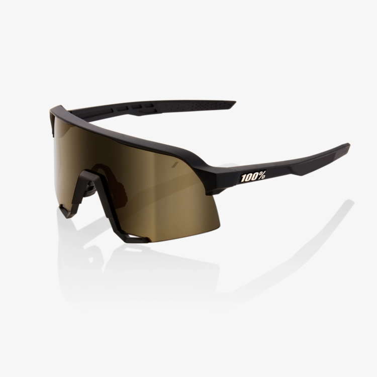 100% S3 Soft Tact Black Soft Gold Lens